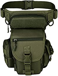 MagiDeal Waterproof Sports Racing Drop Leg Panel Utility Pouch Bag For Outdoor Cycling Hiking Hunting Fishing