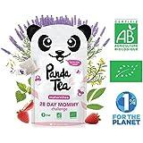 Panda Tea - Maternitea - Tisane Grossesse et Allaitement Sans Caféine Certifiée BIO - 28 Sachets/Infusettes -