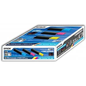 Epson C13S050287 Toner MultiPack pour Aculaser C 1100/1100 N/CX 11 N/NF/NFC