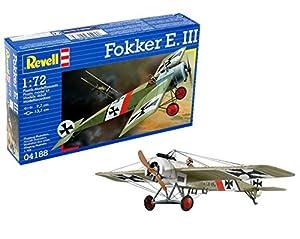 Revell- Fokker E.III, Kit de Modelo, Escala 1:72 (4188) (04188)