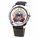 The Skull and Roses watch by Foster's -A...