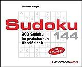 Sudoku Block 144: 200 Sudoku im praktischen Abreißblock - Eberhard Krüger