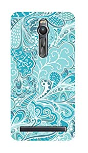 SWAG my CASE PRINTED BACK COVER FOR ZENFONE 2 Multicolor