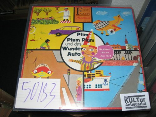 Kasperles Abenteuer: Plim Plam Plum und Kasperles Erlebnisse mit dem Wunderauto. [Vinyl-LP].