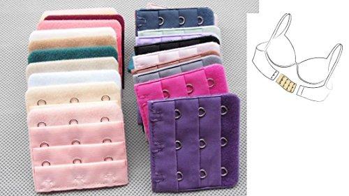 Rallonge Extension pour Soutien Gorge - 3 Crochets - Couleur 11