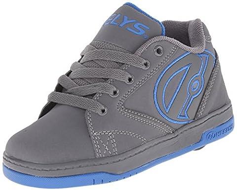 Heelys Propel 2.0, Chaussures de tennis garçon, Gris (Grey / Royal), 38 EU