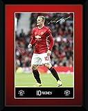 GB Eye Gerahmter Fotodruck Manchester United Rooney,