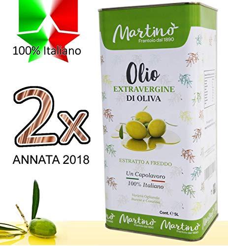 Confezione 10 litri di 100% italiano olio extravergine di oliva