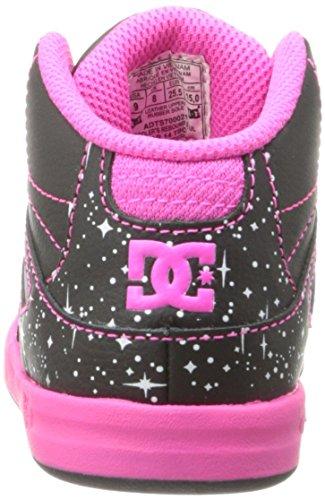 DC Toddlers Rebound sich UL, Sneaker für Jungen (Black Graphic)