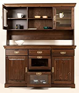 clever moebel buffet sideboard kommode aus kiefernholz kolonialfarben lackiert schrank. Black Bedroom Furniture Sets. Home Design Ideas