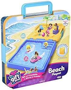 Buy Gift'ems Beach Playset with Exclusive Boy Lifeguard Gift'em ...