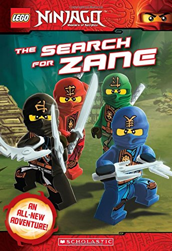 The Search for Zane (Lego Ninjago: Chapter Book) (Lego Ninjago: Masters of Spinjitzu)