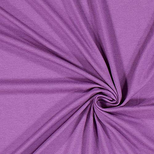 Fabulous Fabrics Leichter Viskosejersey - lila - Viskose Jersey Stoff zum Nähen von Kleidern, Blusen, Shirts und Röcken - Meterware ab 0,5m Jersey Harem Pant