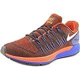 Nike Air Zoom Odyssey, Zapatillas de Running para Hombre, Negro/Blanco / Rojo/Azul (Black/White-Ttl Crimson-Rcr Bl), 42 EU