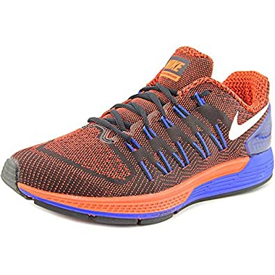Nike air Zoom Odyssey Mens Running Trainers 749338 Sneakers Shoes (US 8. 5, Black White Total Crimson Racer Blue 004)