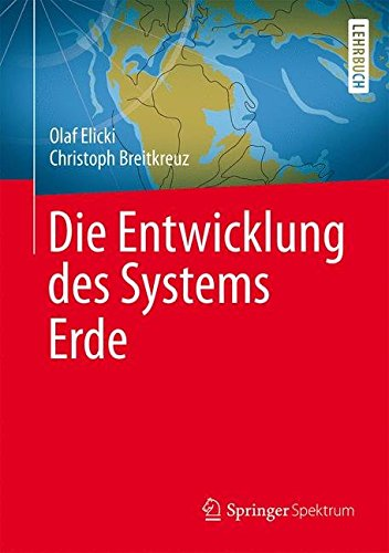 Die Entwicklung Des Systems Erde The Frontiers Collection