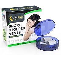 SleepEase® dispositif anti-ronflement! Aide au anti ronflement efficace scientifiquement conçue pour arrêter ronflement, respiration bruyante, apnée du sommeil et congestion nasale - Arrêtez votre ronflement avec notre dispositif antironflement!