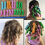 Ekan Roll Hair Tool Volume of Curly Hair Curly Tools In Multicolored for women, Hair Rollers, 25 Gram pack of 1
