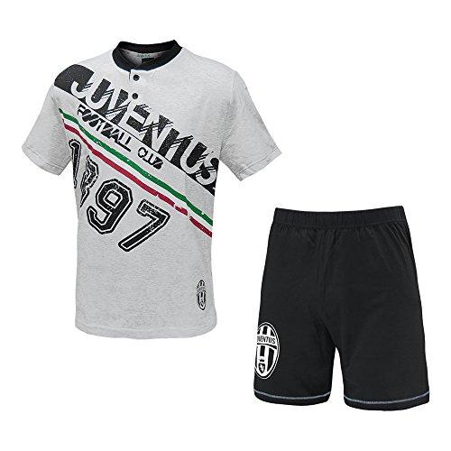 Juventus Männer Pyjamas, Trikots und Shorts Juventus Kleidung Grau