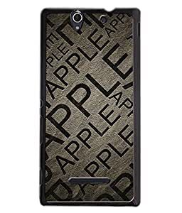 djipex DIGITAL PRINTED BACK COVER FOR SONY XPERIA C3