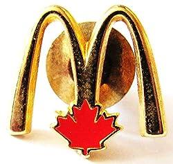 Mc Donalds - Logo - Kanada - Pin 26 x 17 mm