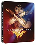 Wonder Woman Steelbook UK Includes 2D and 3D Exclusive Limited Edition Steelbook Region Free