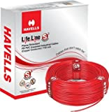 #9: Havells FR PVC, PVC 1. 5 sq/mm Red 90 m Wire(Red)