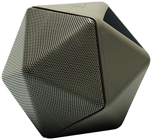 Binauric Boom Boom - Design Bluetooth Konferenz Lautsprecher by Mathieu Lehanneur [Sprachführung | 3D-Mikrofon | Aufnahmegerät | 15 Stunden Musik-Wiedergabe | kostenfreie App]