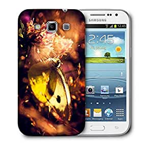 Snoogg Light Yellow Butterfly Printed Protective Phone Back Case Cover For Samsung Galaxy Samsung Galaxy Win I8550 / S IIIIII