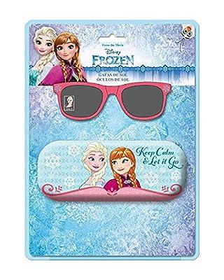 Blister gafas sol Frozen Disney funda metalica por ASTRO EUROPA
