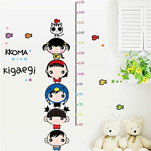 DIYHeight Chart Regel Wandaufkleber Kinderzimmer Kindergarten Messen Höhe Aufkleber Wohnkultur Poster (Regel-chart)