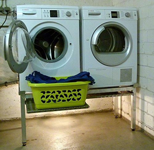 premium waschmaschinen untergestell mara 2 premium mit 2 preisvergleich bei. Black Bedroom Furniture Sets. Home Design Ideas