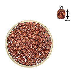 Asianhobbycrafts wooden beads size 10 mm 50 pc per pack (1)
