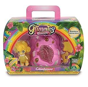 Glimmies-GLN04000 Gimmies Casa y Figura, 19 x 13 cm (Giochi Preziosi Spagna GLN04000)