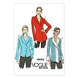 Vogue Patterns V9152 Misses' Top, A5 (6-8-10-12-14)