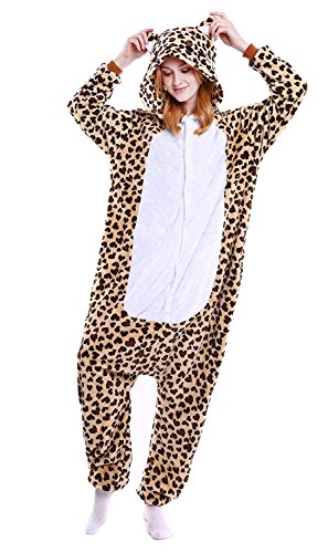ABYED Pijama Animal Entero Unisex Adultos Niños Capucha