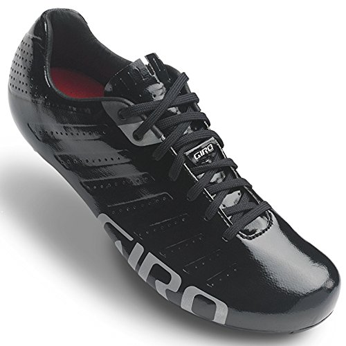Giro Empire SLX Shoes Men black/silver Größe 42 2017 Schuhe