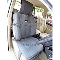Nissan Terrano 2/Patrol ymdx 05 PVC gris polipiel Rossini Deportivo fundas de cojín