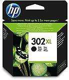 1x Original XL HP Tintenpatrone F6U68AE HP 302XL HP 302 XL für HP Deskjet 2130 - BLACK - Leistung: ca. 480 Seiten/5%