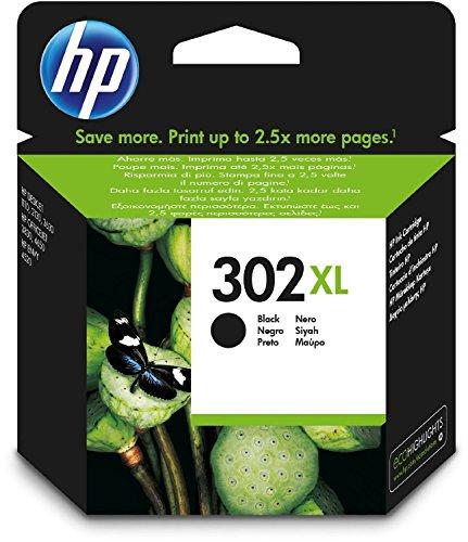 High-yield-tinte (HP 302XL High Yield Black Original Ink Cartridge)
