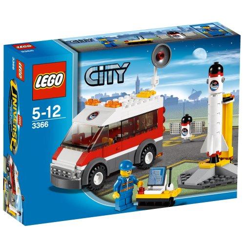 LEGO City 3366 - Piattaforma di lancio satellitare