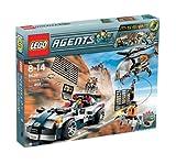LEGO 8634Agents–Mission 5: Verfolgung des Autos
