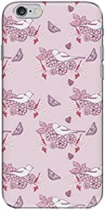 The Racoon Grip printed designer hard back mobile phone case cover for Apple Iphone 6 Plus/6s Plus. (Purple Dov)