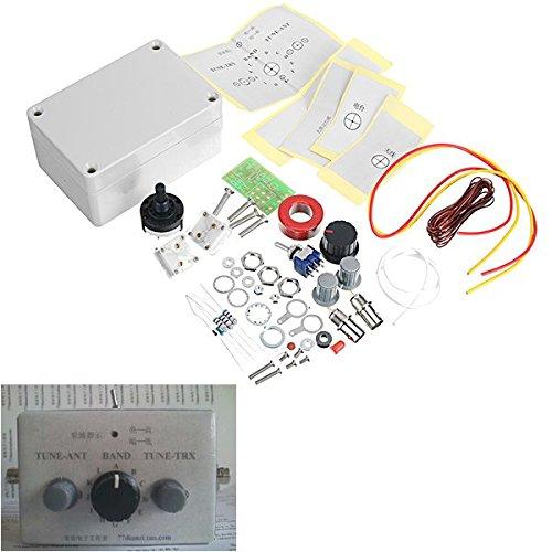 Für Arduino Ham Radio (1-30 Mhz Led Vswr Diy Manuelle Antenne Tuner Kit Für Ham Radio * Cw Qrp Q9 Bnc Schnittstelle Ladicha)