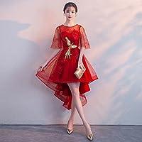 YL LY Vestido de Banquete Vestido Corto Vestido Vestido de Dama de Honor,Segundo,Metro