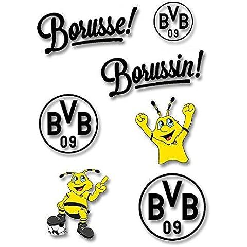 Borussia Dortmund Cristal/Ventana imágenes/cristal pegatina dekorauf BVB 09