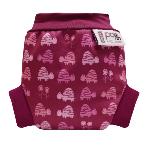 Close Pop-in Schwimmwindeln Pink Turtle - Large (ab dem 8. Monat, ab 9 Kg) - Design 2013