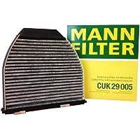 Original MANN-FILTER Innenraumfilter CUK 29 005 – Pollenfilter mit Aktivkohle – Für PKW