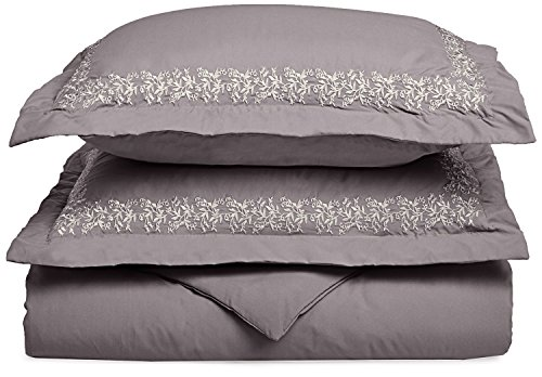 Grey , Full/Queen : Super Soft Light Weight, 100% Brushed Microfiber, Wrinkle...