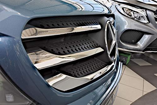 Preisvergleich Produktbild Tuning-Art 3311 Edelstahl Auto Grill Leisten Set 3D Passform fahrzeugspezifisch